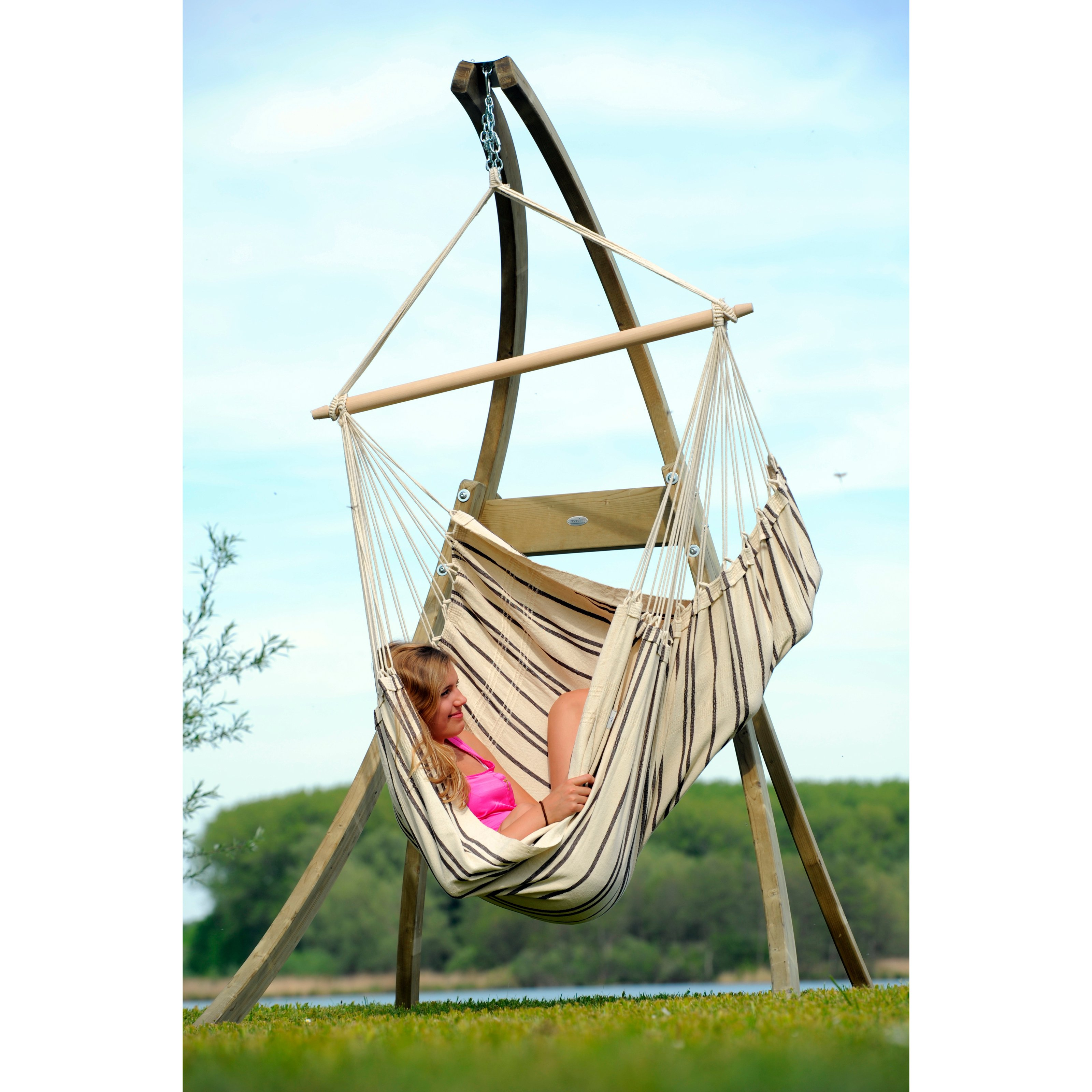 chair hammock stands