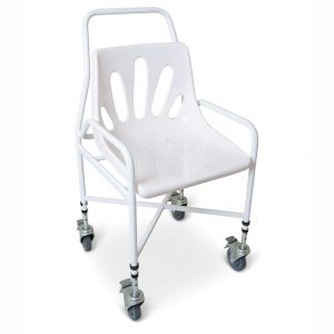 chair lumbar support lke s mobile shower chair adjustable height