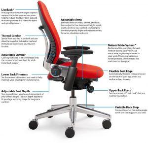 chair lumbar support steelcase leap
