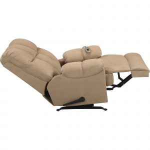 chair massage pad rocker recliner massage chair cream adorable polyester sofa with comfortable back and foot holder dorel living padded massage rocker recliner multiple colors walmart
