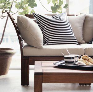 chair pad ikea outdoor sun relax cushions