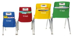 chair pockets for classrooms seat sack row chairs wh sizes