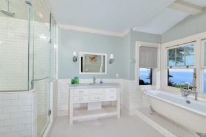 chair rail tile chair rail molding bathroom traditional with crown contemporary showerheads and body sprays