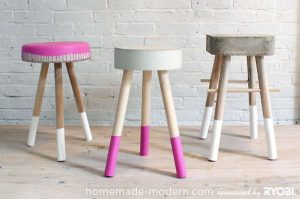 chair step stools diy furniture