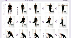 chair yoga sequence chair yoga level class