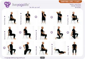 chair yoga sequence chairyoga