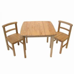 childrens table and chair sets woodentable