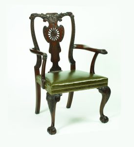 chippendale dining chair uf u english georgian a irish chippendale dining chair mahogany