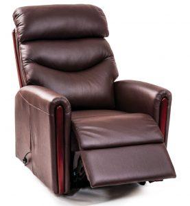 chocolate chair menu santana riser recliner leather