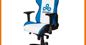 custom gaming chair cloud casual front side