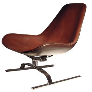 dark blue accent chair isola white bckgrnd