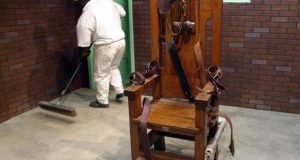 death by electric chair prison museum
