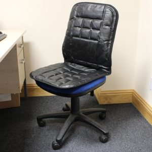 desk chair cushion black leather office swivel chair padded seat pad as well as chair cushions also dining room chair cushions x