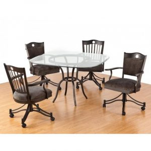 dinette table and chair dining chair design samurai dining chairs with casters swivel
