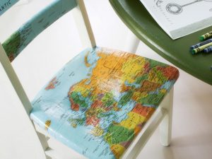 dining chair cover bpf original map decoupage chairs cover closeup h jpg rend hgtvcom