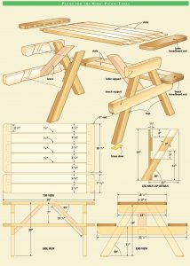 dining chair dimensions table woodworking plans