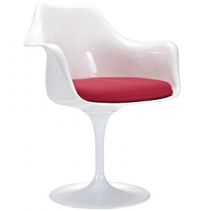 dining chair with arm eei red