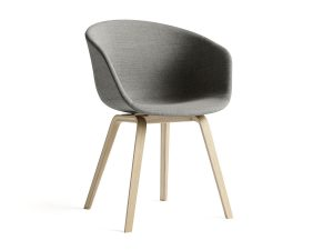 dining chair with arm hay about a chair aac upholstered armchair with wooden base