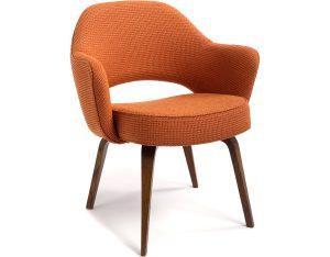 dining chair with arm saarinen arm chair wood legs eero saarinen knoll