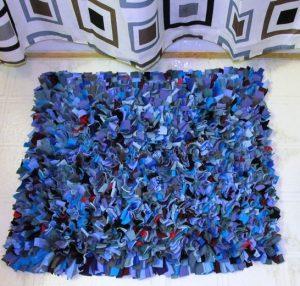 diy chair mat shag bath rug
