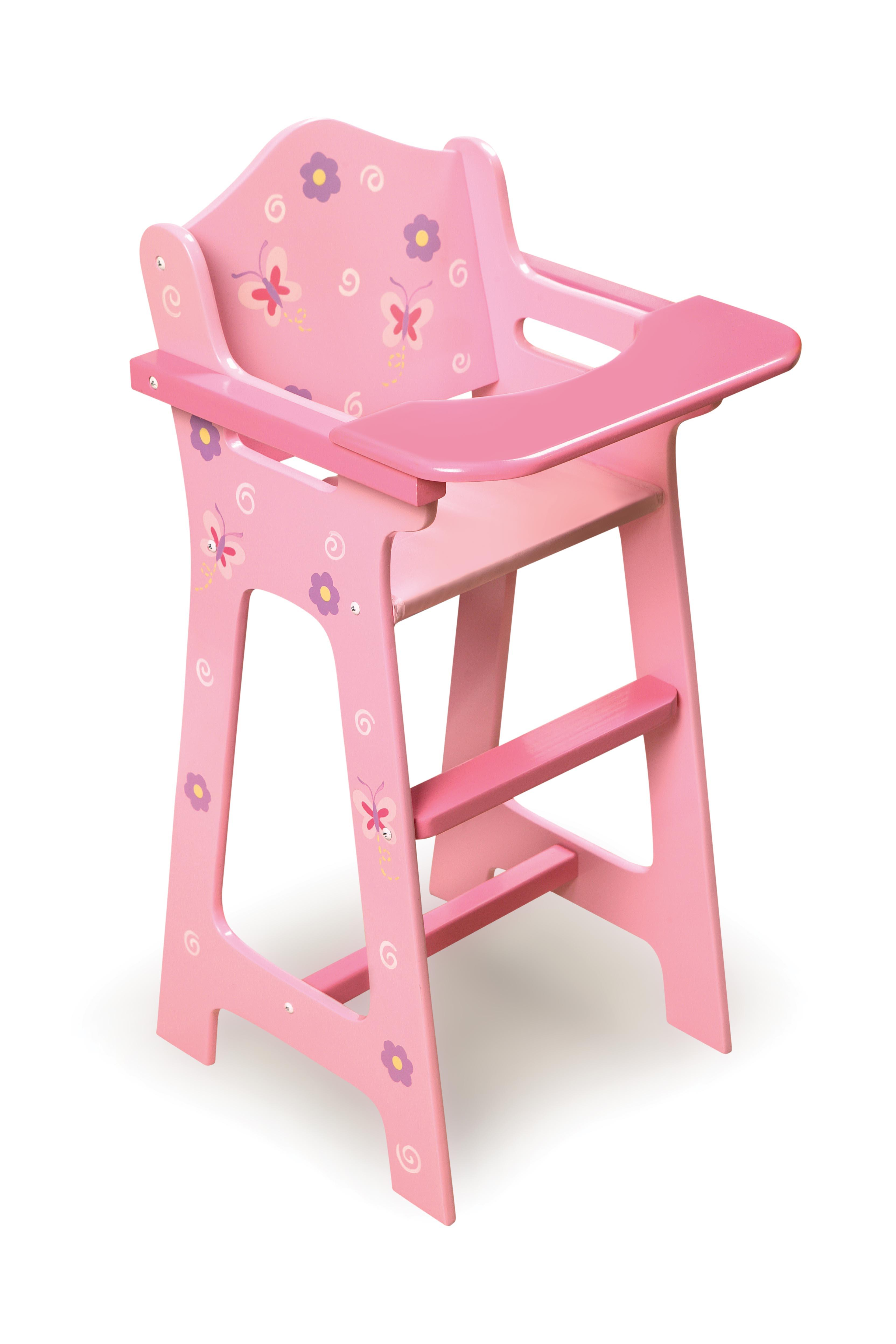 doll high chair blossoms n butterflies doll high chair