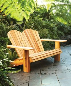 double adirondack chair plans gardens org adirondack chair diy decor ideas
