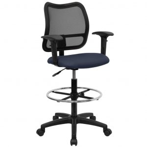 drafting chair with arms o