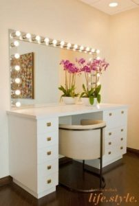 dressing table chair bedroom makeup vanity with lights