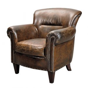 dressing table chair stark vintage brown leather armchair p