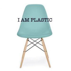 eames chair knock offs blue copy
