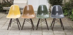 eames side chair eames side chair dsw fiberglass set of