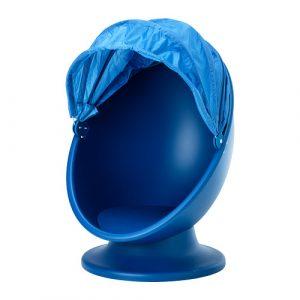 egg chair ikea ikea ps lomsk swivel chair blue pe s