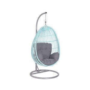 egg swing chair panama swing chair egg light blue