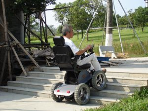electric stair chair out door driving stair climbing