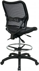 ergonomic drafting chair nd back