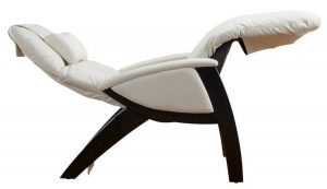 ergonomic lounge chair svago zg recliner chair ivory black reclined