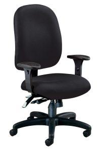 ergonomic task chair black