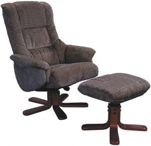 fabric recliner chair gfa shangri la mink fabric swivel recliner chair