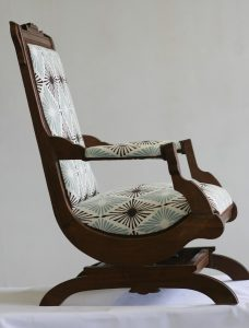 fabric rocker chair il fullxfull