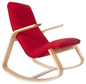 fabric rocker chair modern rocking chairs