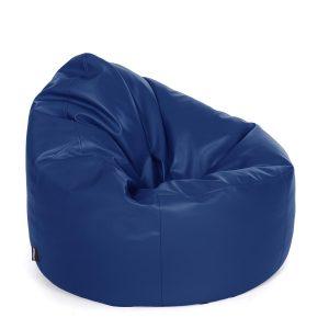 faux fur bean bag chair chair bean bag faux leather royal blue