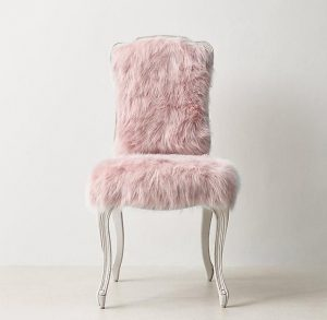 faux fur desk chair adbbafcbcfdf pink furniture furniture chairs