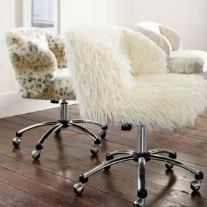 faux fur desk chair fur desk chair cover