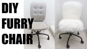 faux fur desk chair maxresdefault