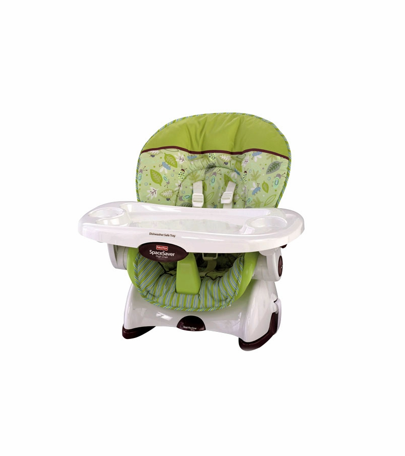 fisher price high chair space saver