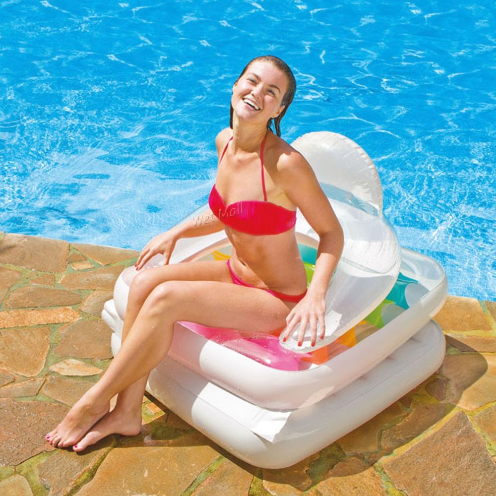 floating pool lounger chair
