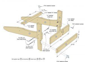 folding adirondack chair plans adirondackchair f sflb
