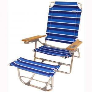 folding chair w footrest scfr