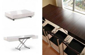 folding dining table and chair coffee table to dining