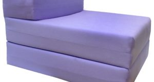 folding foam chair lilac